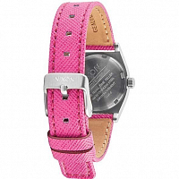 Nixon SMALL TIME TELLER LEATHER NEON YELLOW/HOT PINK