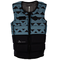 Mystic MAGICIAN IMPACT VEST FZIP WAKE Pewter