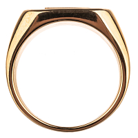 BAKER CAPITAL B RING GOLD