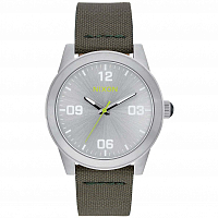 Nixon G.I. NYLON SILVER/SURPLUS