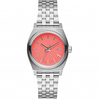 Nixon Small Time Teller BRIGHT CORAL