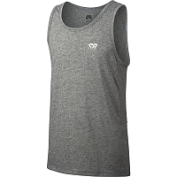 Nike M NK SB DRY TANK SKYLINE DK GREY HEATHER/WHITE