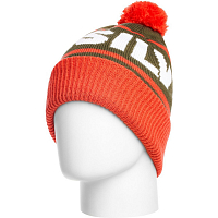 Quiksilver SUMMIT BEANIE MANDARIN RED