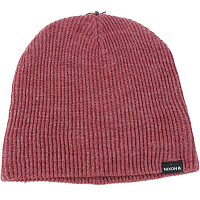 Nixon Compass Beanie BURGUNDY HEATHER
