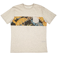 Quiksilver CITYVIBES M TEES SNOW WHITE HEATHER