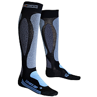 X-Bionic XS SKI Carving Ultra Light Lady Black/Sky Blu