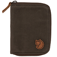FJALLRAVEN ZIP WALLET DARK OLIVE