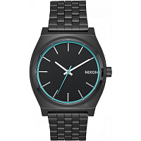 Nixon Time Teller All Black/Blue