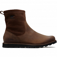 SOREL MADSON ZIP WATERPROOF ON WP-Tobacco, Black