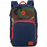 Nixon RANGE BACKPACK NAVY/WOODLAND CAMO