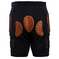 RED TOTAL IMPACT SHORT BLACK