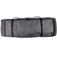 Ronix LINKS PADDED WHEELIE BOARD BAG HEATHER CHARCOAL / ORANGE