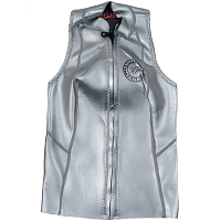 Billabong S.CAP. SALTY D. VEST METALLIC SLV