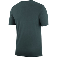 Nike SB LOGO TEE MIDNIGHT GREEN/WHITE