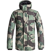 Quiksilver APOLLO JACKET M JCKT GRAPE LEAF SCRATCH CAMO