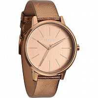 Nixon Kensington Leather ROSE GOLD SHIMMER