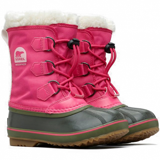 Ботинки SOREL CHILDRENS YOOT PAC NYLON FW от SOREL в интернет магазине www.traektoria.ru - 2 фото