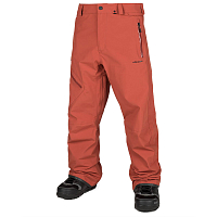 Volcom L GORE-TEX PNT BURNT ORANGE