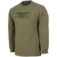 Anti-Hero AH L/S BSC EAGLE MLTRY.GN/BK
