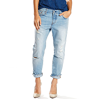 LEVI'S® 501 CT JEANS FOR WOMEN TURBULENT INDIGO