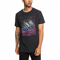 DC SUSPENSION SS M TEES BLACK