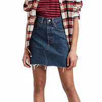 Levi's® HR DECON ICONIC BF SKIRT MEET IN THE MIDDLE