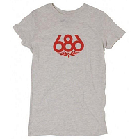 686 WOMENS WREATH S/S T-SHIRT OTML