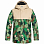 DC DEFY YOUTH JKT  B SNJT CHIVE LEAF CAMO YOUTH
