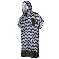 Mystic PONCHO ALLOVER LIGHT GREY