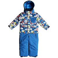 Quiksilver ROOKIE KIDS SUI K SNSU DAPHNE BLUE_ANIMAL PARTY