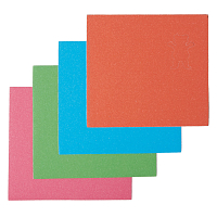 Grizzly NEON MINI GRIP SHEETS MULTI