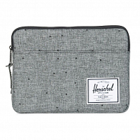 Herschel ANCHOR SLEEVE FOR IPAD AIR SCATTERED RAVEN CROSSHATCH