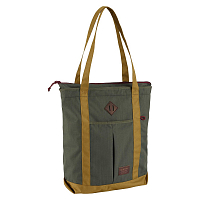 Burton NS ZIP CRATE TOTE FOREST NIGHT RIPSTOP