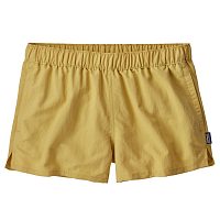 Patagonia W'S BARELY BAGGIES SHORTS Surfboard Yellow