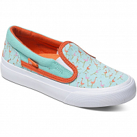 DC TRASE SLIP-ON S G SHOE MISTY BLUE