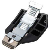 FULL TILT FT WIDE TRACK ALU LOWER BUCKLE KIT SILVER LEFT SILVER