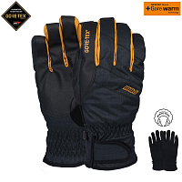 Pow WARNER GTX SHORT GLOVE/WARM TOBACCO