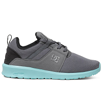 DC HEATHROW J SHOE GREY/BLACK/BLUE