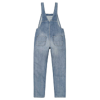 CARHARTT BIB OVERALL BLUE (LIGHT STONE WASHED)
