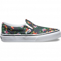 Vans Classic Slip-On (Chambray) parrot/true white