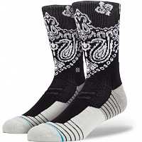 Stance BLUE ATHLETIC FUSION 3FOLD CREW BLACK