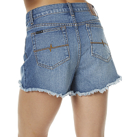 Rusty YESTERDAYS HIGH DENIM SHORT CLASSIC VINTAGE