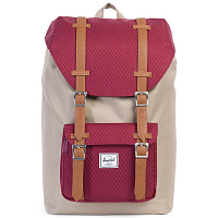 Herschel Little America Mid-Volume Brindle/Windsor Wine/Tan Synthetic Leather