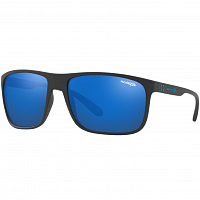Arnette BUSHING MATTE BLACK/BLUE MIRROR BLUE