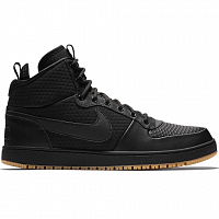 Nike EBERNON MID WINTER BLACK/BLACK-GUM LIGHT BROWN