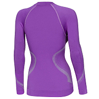 BODY DRY X-FIT WOMEN LONG SLEEVE SHIRT VIOLET