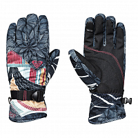 Roxy JETTY SE GLOVES J GLOV TRUE BLACK_POP SNOW STARS