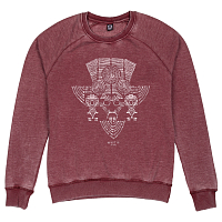 Mystic DIVERGE SWEAT BURGY RED