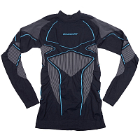 BodyDry PULSAR LONG SLEEVE SHIRT GREY/BLUE