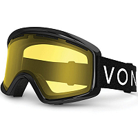 VonZipper BEEFY Black Gloss / Yellow
